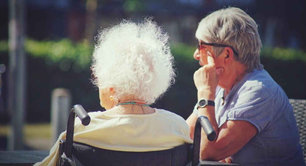 Senior Friends in Retirement